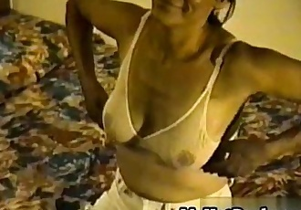 Mary is a Latin granny who has big  sagging hooter - 6 min
