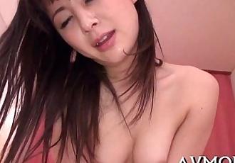 Hot asian mamma strip tease - 5 min