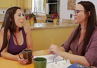 Tutoring turns into lesbian sexDana DeArmond and Reena Sky 6 min HD+