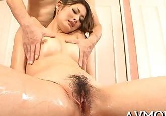 Milf asian slut and 3 dongs - 5 min