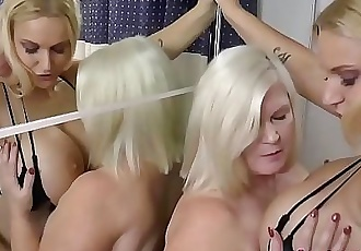 Lesbian grandma eats cunt 12 min