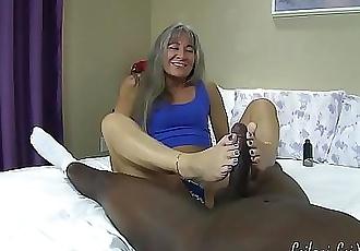 Size 7 Feet vs Big Black Cock TRAILER 2 min 720p