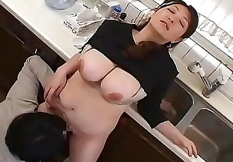 Mature Plump Breast Of Mother Japanese 15 min