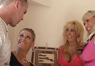 3 Horny MILFs Go Wild For CockHD