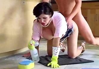 Big Tits Housewife Love Hardcore Intercorse On Tape clip-30