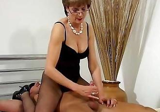 The Lady Milks The Slave