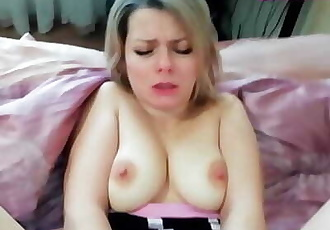 FUCKED his STEPMOTHER and CUM in her PUSSY