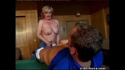 MILF Blond Woman - 1 min 2 sec