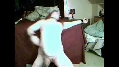 Incredible ! My pervert mom self whipping caught by hidden cam - 2 min