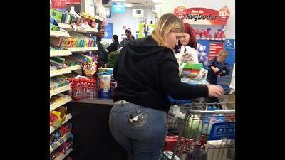 thick ass amateur white married milf at Walmart in zachery Louisiana - 53 sec