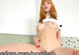Anny Aurora Loves to Use a Vibrator