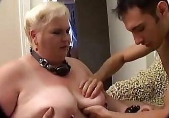 Old fetishist women do it crazy Vol. 1