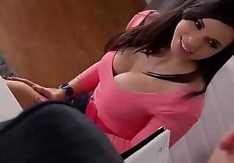 Ultra Sexy Big tits Pornstar Nekane Hardcore Fucked in the Office! 21 min 720p