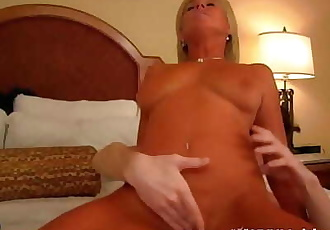 MILF mom blackmailed and fucked by young son payton hall 28 min