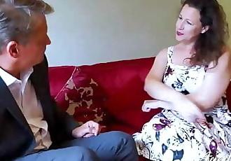 AgedLovE Hot Mature Lady Seducing Businessman 8 min 1080p