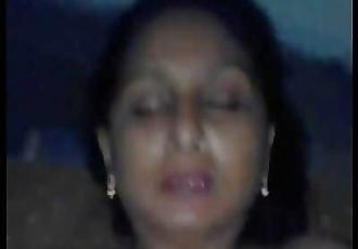 Indian Desi aunty sucking and fucking young guyWowmoyback 2 min