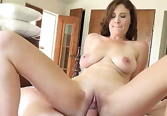 MILFTRIP Busty MILF Lyft Driver Alice Chambers Convinced To Fuck 10 min 1080p