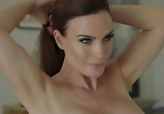 Naughty America Mrs. Culver showers with and fucks sons friend 13 min 720p
