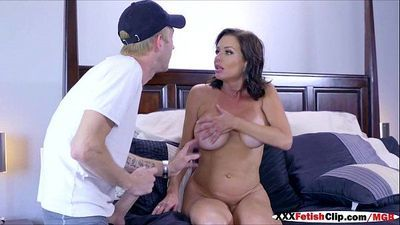 Mommy Veronica Avluv sucks and fucks cock of best friend - 58 sec