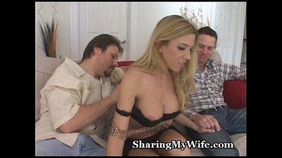 swinger Babe ofrecido :Por: mi marido - 5 min