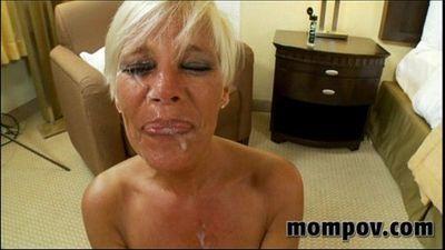 hot blonde milf gets fucked - 6 min