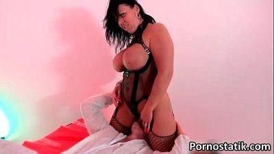 Skanky milf mom with big tits loves - 6 min