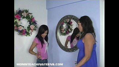 Teen learning all about sex from a mom - 6 min