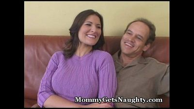 Naughty Mommy Trades In Loser Hubby - 5 min