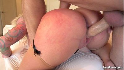 LiveGonzo Angel Vain Gets her Ass Fucked - 8 min HD