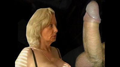 Granny from EpikGranny.com gives blowjob and gets fucked - 3 min