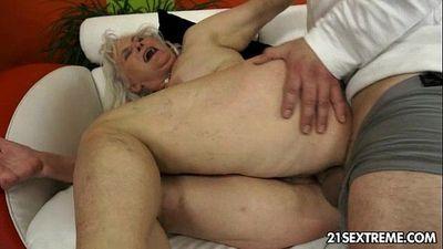 Judi - Lusty Grandmas - 5 min