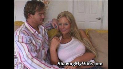 Sharing My Big Tittie Wife - 3 min