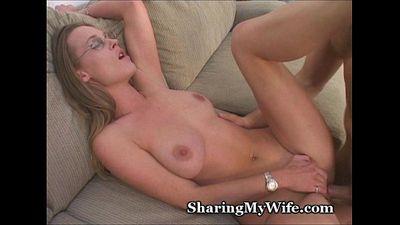 Wife Fucks New Cock - 3 min