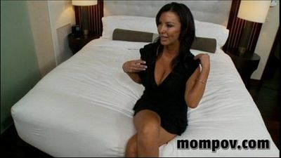 sexy big tit milf banging big young cock - 5 min