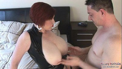 Trudi Stephens Get Pounded & Juggs Jizzled - 6 min