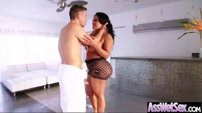 Luscious Big Ass Girl (kiara mia) Take It Deep In Her Asshole mov-16