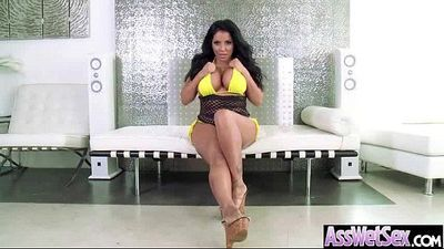 Big Wet Butt Girl (kiara mia) Love Hard Anal Bang On Cam clip-16