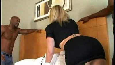 Sara jay loves black cock