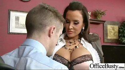 (lisa ann) Big Tits Office Slut Girl Banged Hardcore vid-19