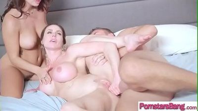 (Keisha Grey & Kendra Lust) Pornstar Realy Like And Need Monster Cock In Her movie-18