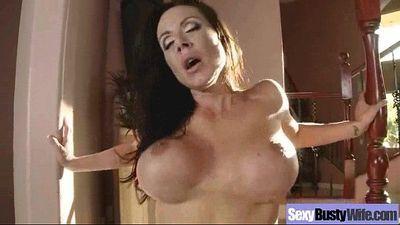 Big Boobs Housewife (kendra lust) In Hardcore Sex Scene clip-19