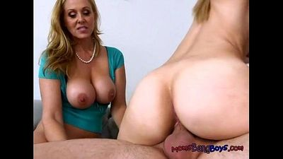 Stepmom Julia Ann Supervises Stepdaughter Alexas Fucking