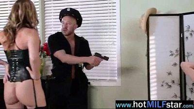 Naughty Mature Lady (julia ann) Ride Big Mamba Dick clip-16
