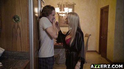 Hot MIILF Alexis Fawx fucks with stepson Tyler Nixon