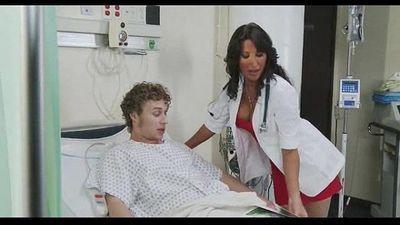 Hot nurse Lezley Zen fucked
