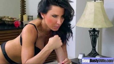 Hardcore Sex Tape With Mature Bigtits Lady (lezley zen) video-18