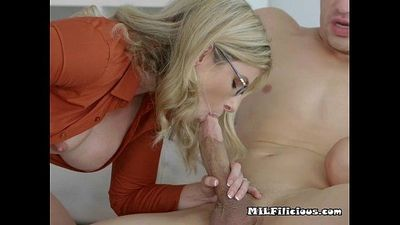Busty Blondes Share Pool Boys Big Hard Cock