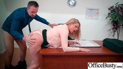 Naughty Office Girl (Brooklyn Chase) With Big Melon Tits Love Intercorse movie-02