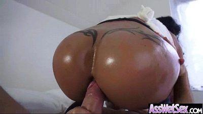 (jewels jade) Slut Girl With Big Round Oiled Butt Like Anal Hard Sex vid-15