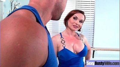 Sexy Housewife (Katja Kassin) With Big Jugss Nailed Hardcore On Cam vid-01